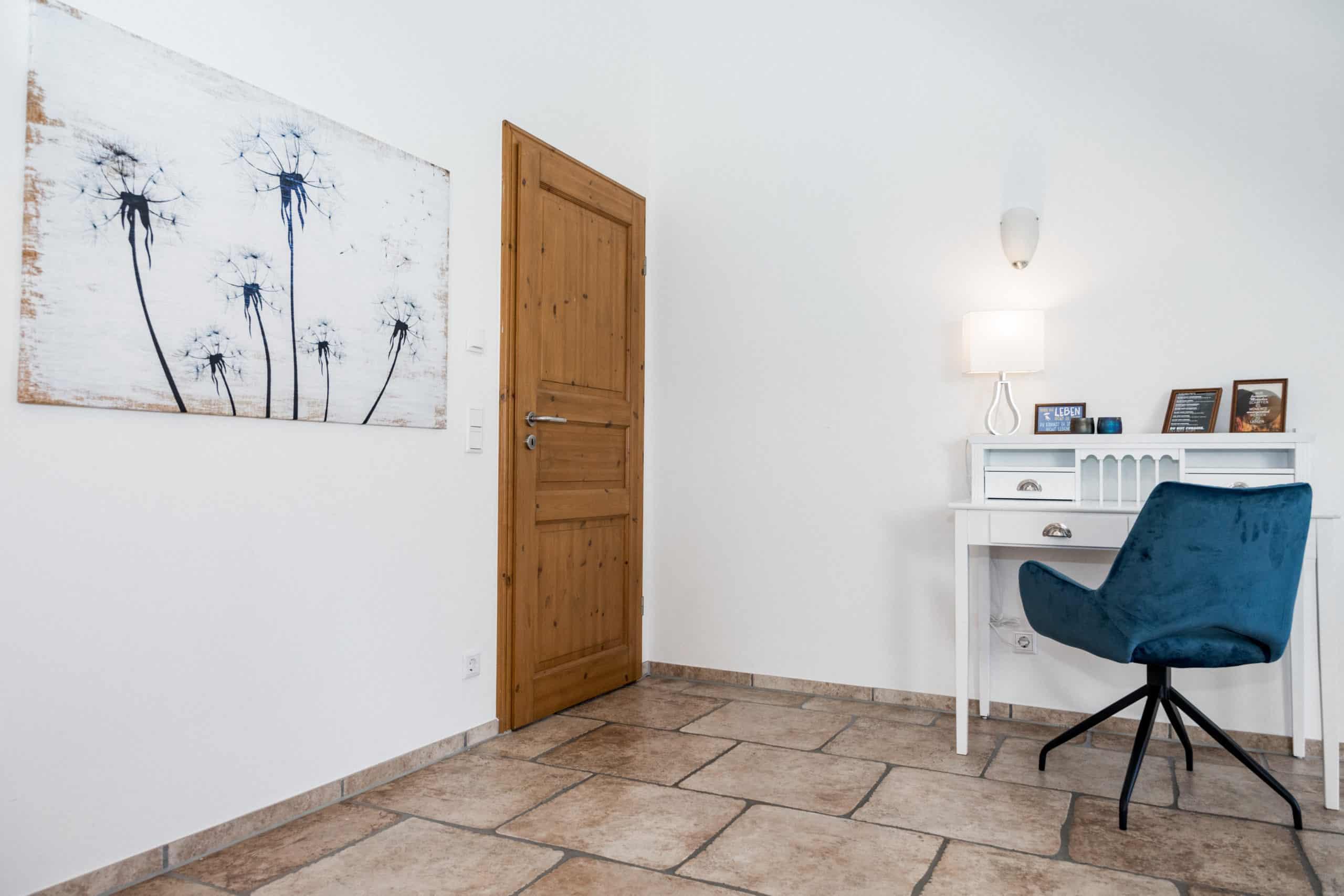 Loft: Schreibtisch im zweiten Schlafzimmer
